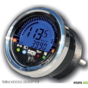 MD052シリーズ多機能小型デジタルメーター メッキベゼル 水油温計装備 ACEWELL(エースウェル)|hamashoparts