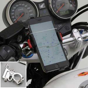 【適合ハンドル径】22mm〜29mm 【備考】※取り付け可能なスマートフォンサイズ:幅55〜85mm...