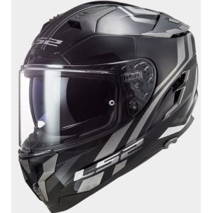 CHALLENGER F(チャレンジャーF)フルフェイスヘルメット ブラックチタニウム XLサイズ LS2(エルエス2)|hamashoparts