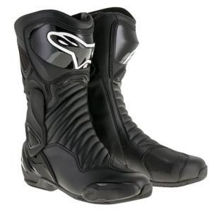 SMX6 レースブーツ ブラック/ブラック 40/25.5cm アルパインスターズ(alpinestars)|hamashoparts