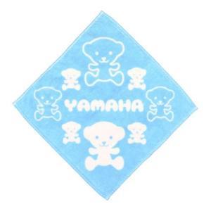 ヤマハベア ハンドタオル ライトブルー YAMAHA(ヤマハ・ワイズギア)|hamashoparts