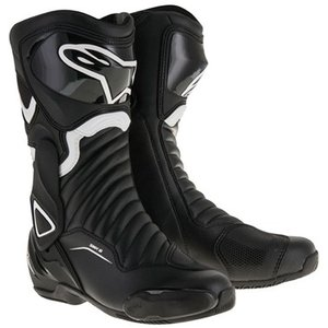 SMX6 レースブーツ ブラック/ホワイト 42/26.5cm アルパインスターズ(alpinestars)|hamashoparts