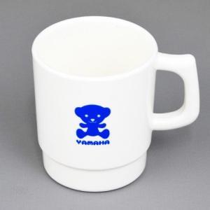 ヤマハベア プラスチックマグカップ ホワイト YAMAHA(ヤマハ・ワイズギア)|hamashoparts