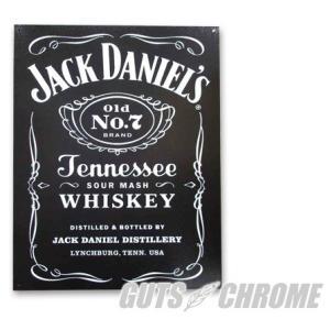 メタルサイン Jack Daniel's GUTS CHROME(ガッツクローム) hamashoparts