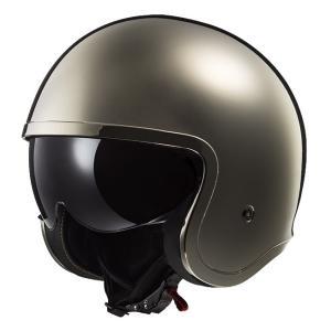 SPITFIRE スピットファイア ヘルメット クローム XLサイズ LS2(エルエス2)の商品画像|ナビ