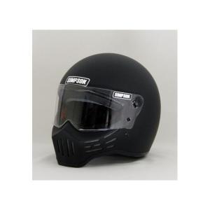 M30ヘルメット マットブラック 60cm(7-1/2)  SIMPSON(シンプソン)|hamashoparts