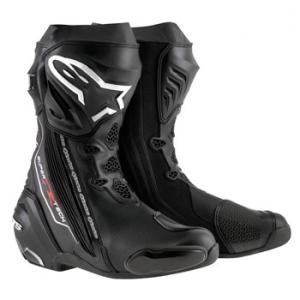 スーパーテックR ブーツ ブラック 44/28.5cm アルパインスターズ(alpinestars)|hamashoparts