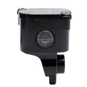 リア ブレーキマスター用 削り リザーバタンク 90°ブラック GALE SPEED(ゲイルスピード) hamashoparts
