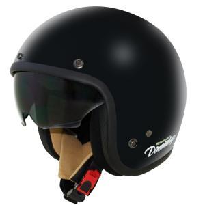 AIR MATERIAL(エアーマテリアル)ジェットヘルメット パールブラック レディースフリーサイズ(56〜57cm未満) DAMM TRAX(ダムトラックス)|hamashoparts