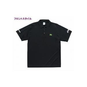 【サイズ】LL 【商品説明】シンプルなデザインのドライポロシャツ! ●ニンジャシルエットの刺繍がポイ...