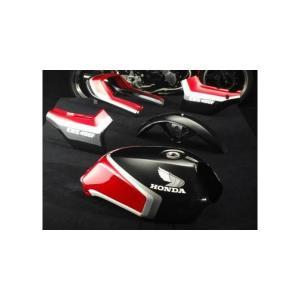 ラインステッカーセット黒赤2型 CBX400F PASTEL ROAD(パステルロード)|hamashoparts