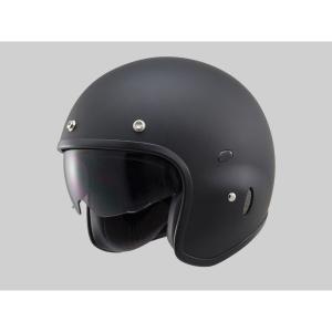 Hattrick パイロットタイプヘルメット PH-1 マットブラック Mフリーサイズ(55〜57cm未満) DAYTONA(デイトナ)