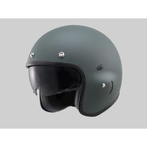 Hattrick パイロットタイプヘルメット PH-1 マットグリーン Lフリーサイズ(57〜60cm) DAYTONA(デイトナ)