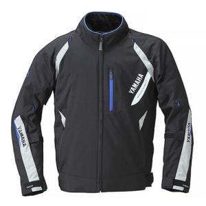 RSタイチ(TAICHI)コラボ ストライカーオールシーズンジャケット YAF56-R ブラック/ブルー Lサイズ YAMAHA(ヤマハ・ワイズギア)|hamashoparts