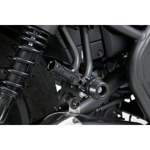 タンデムステップ スライダー ブラック OVER(オーバーレーシング) レブル250(Rebel250)17年 hamashoparts