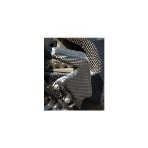 Mv Agusta F4(00〜09年) ヒールガード 平織りカーボン製 MAGICAL RACING(マジカルレーシング)|hamashoparts