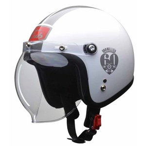 0SHGC-JC1A-WF Cub ヘルメット W (ホワイト) Fサイズ HONDA(ホンダ)|hamashoparts