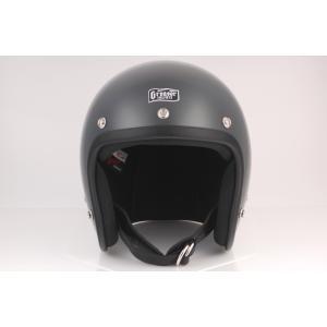 GREASER 60's PLAIN ジェットヘルメット ガンシップグレー L(59cm〜60cm) GREASER(グリーサー)|hamashoparts