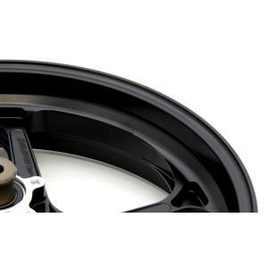 MV AGUSTA F3 TYPE-GP1S(アルミニウム)モノアーム用鍛造ホイール 半ツヤブラック 6.00-17(リア) GALE SPEED(ゲイルスピード)|hamashoparts
