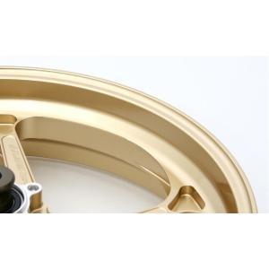 MV AGUSTA F3 TYPE-GP1S(アルミニウム)モノアーム用鍛造ホイール ゴールド 6.00-17(リア) GALE SPEED(ゲイルスピード)|hamashoparts