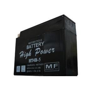レッツ/2(Let's) HT4B-5 液入り充電済 HighPowerバッテリー メンテナンスフリー(YT4B-BS・GT4B-5互換) T・K-corporation