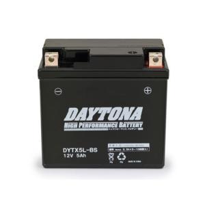 リード100(LEAD)01年〜 ハイパフォーマンス メンテナンスフリー バッテリー DYTX5L-BS(YTX5L-BS互換) DAYTONA(デイトナ)|hamashoparts