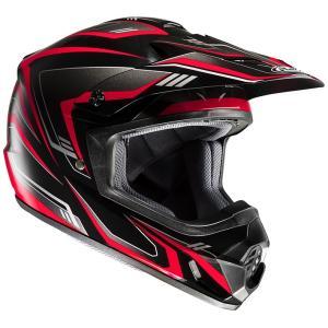 HJH123 CS-MX2エッジ オフロードヘルメット ホワイト/ブラック XL(61-62)サイズ HJC hamashoparts