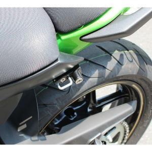 Ninja400(ニンジャ)/ABS 14年〜 ヘルメットロックブラック KIJIMA(キジマ)|hamashoparts