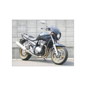 バンディット1200(BANDIT)06年 ロードコメット2 スモークスクリーン キャンディソノマレッド(YHL) エアロスクリーン CHIC DESIGN(シックデザイン)