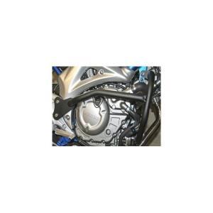 グラディウス650(GLADIUS) エンジンガード スチール製 ブラック レンテック(RENNTEC)|hamashoparts