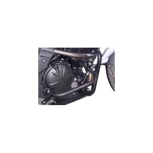 ER-6n エンジンガード スチール製 ブラック レンテック(RENNTEC)|hamashoparts