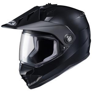 HJH133 DS-X1 ソリッド オフロードヘルメット セミフラットブラック Lサイズ HJC|hamashoparts