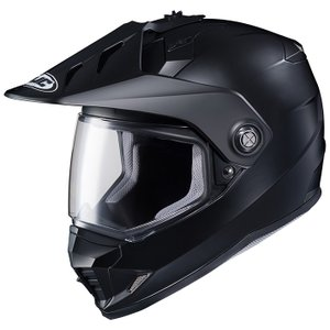 HJH133 DS-X1 ソリッド オフロードヘルメット セミフラットブラック Mサイズ HJC|hamashoparts