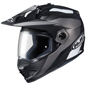 HJH134 DS-X1 エーウィング オフロードヘルメット ブラック Lサイズ HJC hamashoparts