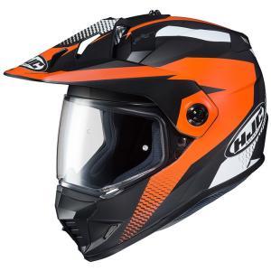 HJH134 DS-X1 エーウィング オフロードヘルメット オレンジ XLサイズ HJC hamashoparts