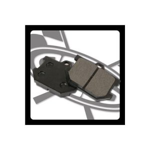 SR400(78〜83年)フロント ブレーキパッドB GOODS(モーターガレージグッズ)|hamashoparts