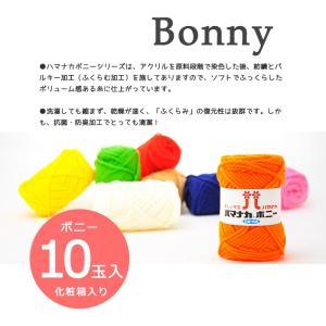 【数量限定パック】ハマナカ ボニー 化粧箱入り 10玉セット  アクリル100% 極太 福袋|hamayaco|04