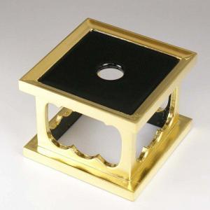 リン台 おりん用台  木製 惣金 3.5寸  お仏壇・仏具の浜屋|hamayanet