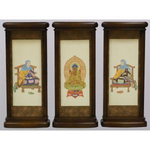スタンド型掛軸 御本尊セット  天台宗用   小サイズ   お仏壇・仏具の浜屋|hamayanet