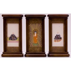 スタンド型掛軸 御本尊セット  浄土真宗本願寺派用  中サイズ   お仏壇・仏具の浜屋|hamayanet