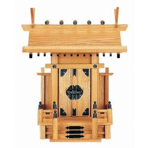 中神明 (新けやき) 横巾36×高さ41cm 【神棚】 ●お仏壇・仏具の浜屋|hamayanet
