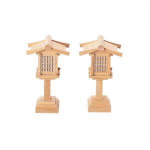 春日燈籠6寸コード式(木曽ひのき) 【神具】 ●お仏壇・仏具の浜屋|hamayanet