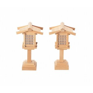春日燈籠8寸コード式(木曽ひのき) 【神具】 ●お仏壇・仏具の浜屋|hamayanet
