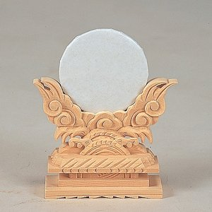 神鏡上彫 2寸 【神具】 ●お仏壇・仏具の浜屋|hamayanet