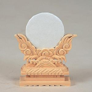 神鏡上彫 2.5寸 【神具】 ●お仏壇・仏具の浜屋|hamayanet
