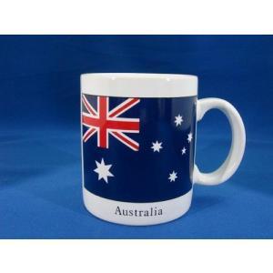 オーストラリア国旗柄マグカップ 海外 土産 貴重 セール 大量 仕入れ インバウンド プレゼント 景品|hamazoku