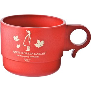 赤毛のアンエコシリーズ スタッキングマグカップ 3色セット 抗菌 ウィルス対策 コロナ対策 ベビー 安心 環境 卸 安い 軽い  環境樹脂  贈答 食洗器 hamazoku