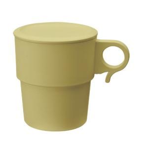 スタッキングコーヒーカップ(フタ別売り) 抗菌 ウィルス対策 コロナ対策 ベビー 安心 環境 卸 安い 軽い 竹粉 環境樹脂 大量仕入 食洗器 贈答 hamazoku