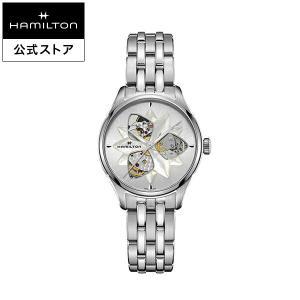 ハミルトン 公式 腕時計 Hamilton Jazzmaster Open Heart Lady ジ...