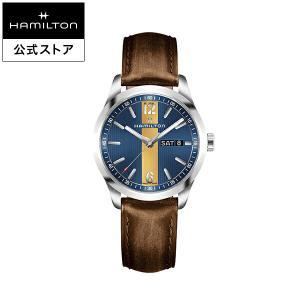 ハミルトン 公式 腕時計 Hamilton Broadway Day Date ブロードウェイ デイ...